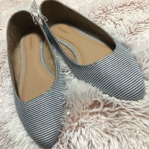 Old Navy striped flats